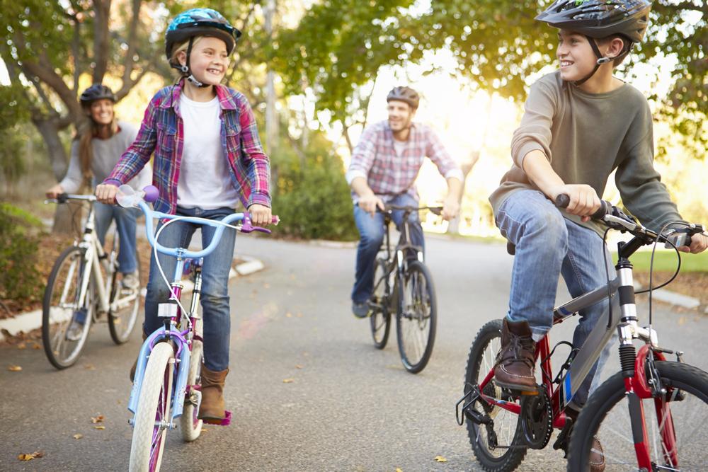 велосипед для всей семьи фото случаев наблюдения